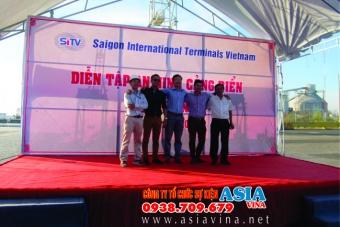 Cảng Sài Gòn SITV diễn tập An Ninh Cảng Biển
